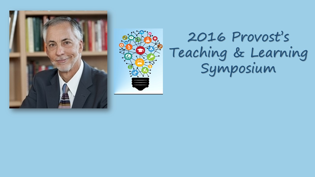 Tom Angelo, Keynote at Teaching & Learning Symposium
