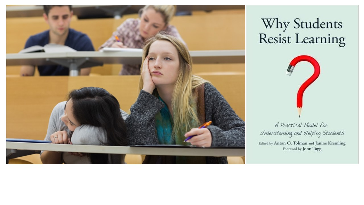 Spring Book Discussion: Why Students Resist Learning